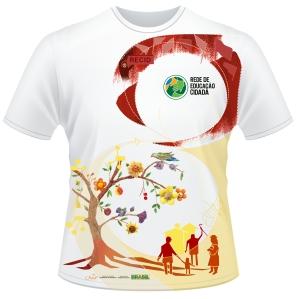 Arte para a camiseta a ser entregue no 12o Encontro Nacional da Recid, de 4 a 8 de dez de 2014. Arte: cristinabrites@gmail.com. Licença CC (enviar e-mail)