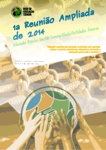 Capa caderno 1 reunião ampliada da recid de 2014 - 3 a 5 de de abril